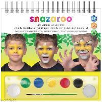 Jeu De Creation Maquillage SNAZAROO Guide de maquillage pas a pas