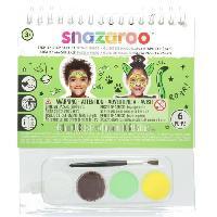 Jeu De Creation Maquillage SNAZAROO Mini livret d'activite mixte