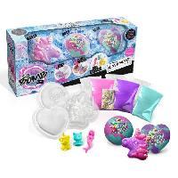 Jeu De Creation Savon CANAL TOYS - SO BOMB DIY - Pack de 3 Bath Bomb - Licorne. Coeur et Diamant - Fabrique tes bombes de bain effervescentes !
