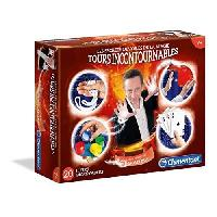 Jeu De Magie - Kit Magie CLEMENTONI - Les Secrets Dévoilés de la Magie - Tours Incontournables - Jeu de Magie