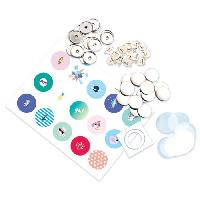 Jeu De Mode - Couture - Stylisme BADGE IT Recharge Badge It Fashion - Bandai