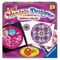 Jeu De Mode - Couture - Stylisme Mandala Designer 2 en 1 - Tattoo-Style