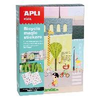 Jeu De Mosaique Boite magic stickers - Velos