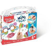 Jeu De Mosaique MAPED CREATIV - Mini Box - Stickers Mosaique Photobooth a construire