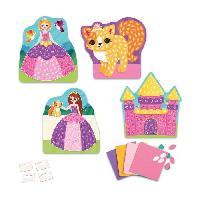 Jeu De Mosaique Mes Premieres Mosaiques Autocollantes Princesse