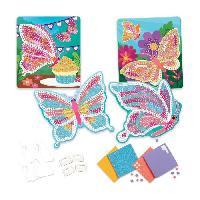 Jeu De Mosaique Mosaiques Autocollantes Papillons