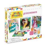 Jeu De Mosaique Mosaiques Autocollantes Princesse