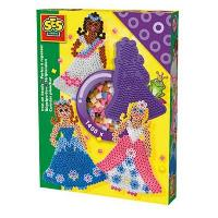 Jeu De Mosaique SES CREATIVE Perles a repasser Princesses
