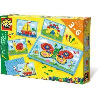 Jeu De Mosaique SES CREATIVE Tableau mosaique avec cartes
