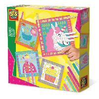 Jeu De Origami SES CREATIVE Tisser du papier