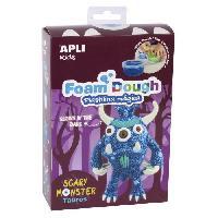 Jeu De Pate A Modeler APLI Kit Pate a modeler en Fun Dough - Monstre bleu