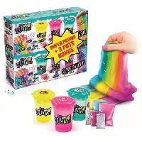 Jeu De Pate A Modeler CANAL TOYS - SO SLIME DIY - Pack de 6 Slime Shakers - Cosmic et Rainbow - Fais ton propre Slime !