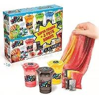 Jeu De Pate A Modeler CANAL TOYS - SO SLIME DIY - Pack de 6 Slime Shakers - Creepy et Insecte - Fais ton propre Slime !