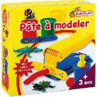 Jeu De Pate A Modeler KIM'PLAY Machine pate a modeler + 2 Pots