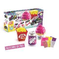 Jeu De Pate A Modeler SO SLIME DIY - Slimelicious 3 Pack - Soda - Pop Corn - Ice Cream - Canal Toys