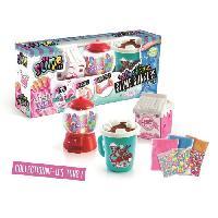 Jeu De Pate A Modeler SO SLIME DIY - Slimelicious 3 Packs - Milk - Bubble Gum - Choco - Canal Toys