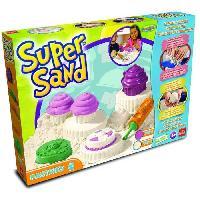 Jeu De Pate A Modeler Super Sand Cupcakes