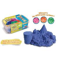 Jeu De Pate A Modeler Super Sand Recharge Bleu