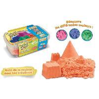 Jeu De Pate A Modeler Super Sand Recharge Orange