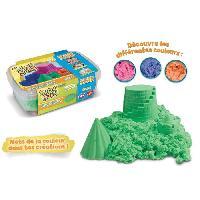Jeu De Pate A Modeler Super Sand Recharge Vert