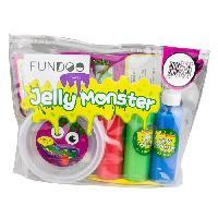 Jeu De Pate Polymere FUNDOO - Monster slime diy - crystal bag - Darpeje