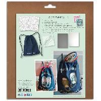 Jeu De Pate Polymere Kit Custo Facile - Sac et accessoires a customiser - Enfant - Mixte