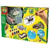 Jeu De Peinture Insectes En Platre