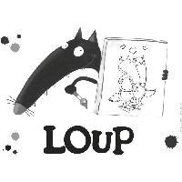 Jeu De Peinture JOUSTRA - Loup Coffret Peinture - Accompagne Loup dans ses changements de couleurs !