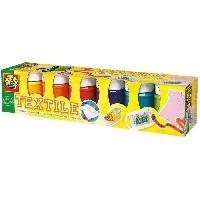 Jeu De Peinture Lot 6 Peintures Textile Moderne - 6x50ml