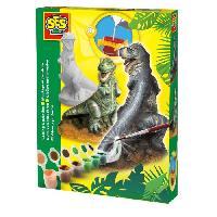 Jeu De Peinture SES CREATIVE Moulage en plâtre T-Rex