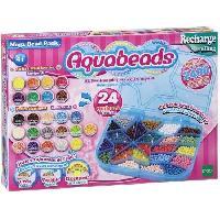 Jeu De Perle A Repasser AQUABEADS Coffret De Creation Chic - plus de 1000 perles de 16 couleurs