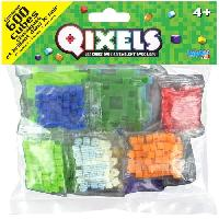 Jeu De Perle A Repasser ASMOKIDS - 600 cubes Class Glow Qixels
