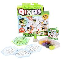 Jeu De Perle A Repasser ASMOKIDS- KIT DESIGN CLASSIQUE (1200 RECHARGES)- QIXELS - Kanai Kids