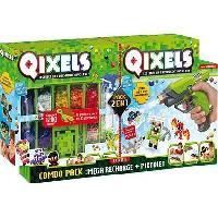 Jeu De Perle A Repasser QIXELS - Combo Pixtolet et Méga recharges - A partir de 4 ans - Asmokids