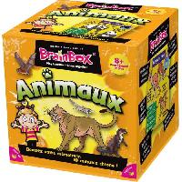 Jeu De Questions - Reponses BrainBox Animaux - Asmodee