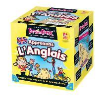 Jeu De Questions - Reponses BrainBox Apprenons Anglais - Asmodee