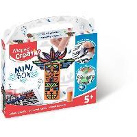 Jeu De Sable A Coller MAPED CREATIV - Mini Box - Sables Colores a construire