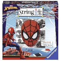 Jeu De Scultpure STRING IT midi licence Spiderman Suivez La tendance du String Art !