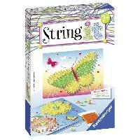 Jeu De Scultpure STRING IT mini Butterflies Suivez La tendance du String Art !