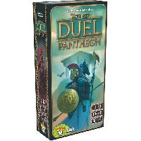 Jeu De Societe - Jeu De Plateau 7 Wonders Duel - Extension Pantheon