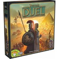 Jeu De Societe - Jeu De Plateau ASMODEE - 7 Wonders Duel - Jeu autonome pour 2 joueurs - Jeu de societe