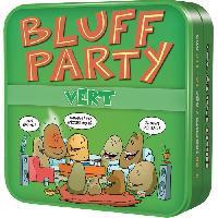 Jeu De Societe - Jeu De Plateau ASMODEE - Bluff Party Vert - Jeu de societe
