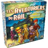 Jeu De Societe - Jeu De Plateau Aventuriers du rail - Mon Premier Voyage