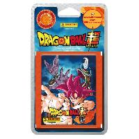 Jeu De Stickers DRAGON BALL SUPER Blister 7 Pochettes de 5 Stickers