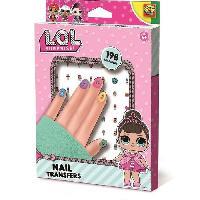 Jeu De Stickers L.O.L. Stickers transfert ongles - Ses Creative