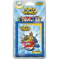Jeu De Stickers SUPER WINGS Blister de 8 Pochettes - Panini