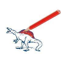 Jeu De Tampon SES CREATIVE Kit de tampons dinosaures