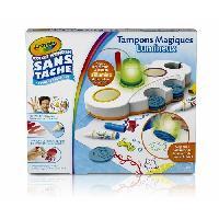 Jeu De Tampon Tampons Magiques Color Wonder - Crayola