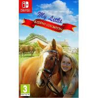 Jeu Nintendo Switch My Little Riding Champion Jeu Switch - Bigben
