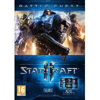 Jeu Pc Battlechest Trilogie Starcraft II Jeu PC - Activision